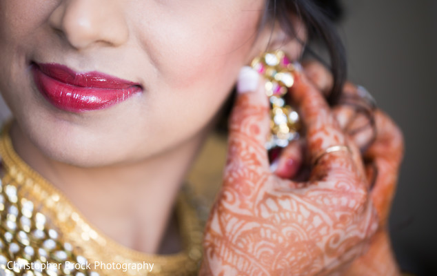 Getting Ready in Spartanburg, SC Indian Wedding by Christopher Brock Photography