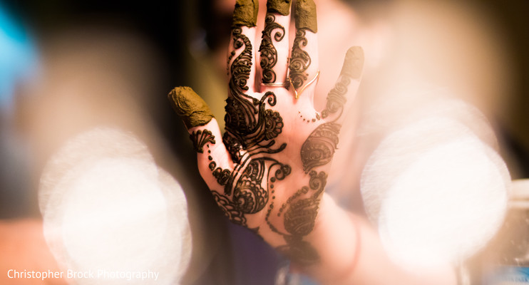 Mehndi in Spartanburg, SC Indian Wedding by Christopher Brock Photography
