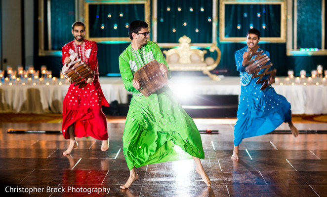 Reception in Spartanburg, SC Indian Wedding by Christopher Brock Photography