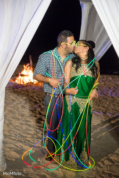 Pithi in Montego Bay, Jamaica South Asian Wedding by MnMfoto