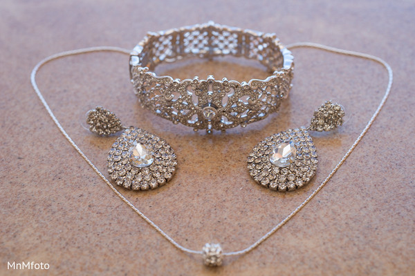 Bridal Jewelry in Montego Bay, Jamaica South Asian Wedding by MnMfoto