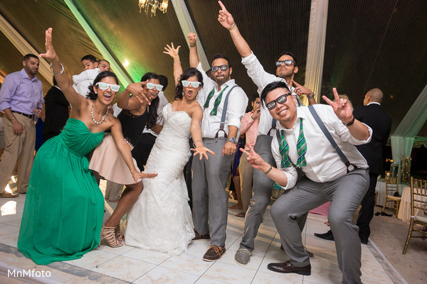 Reception in Montego Bay, Jamaica South Asian Wedding by MnMfoto
