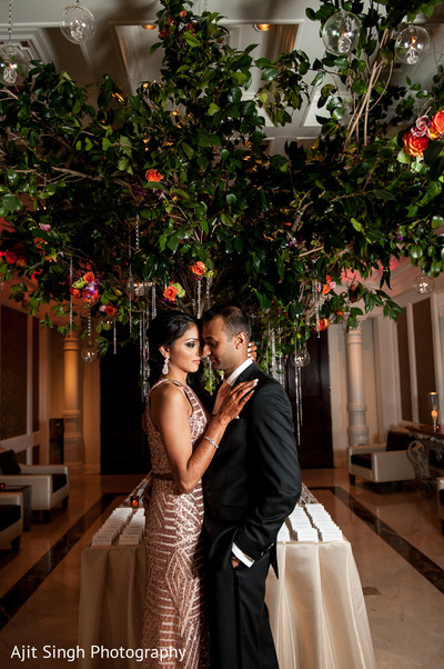 Portraits in Woodland Park, NJ Indian Wedding by Ajit Singh Photography