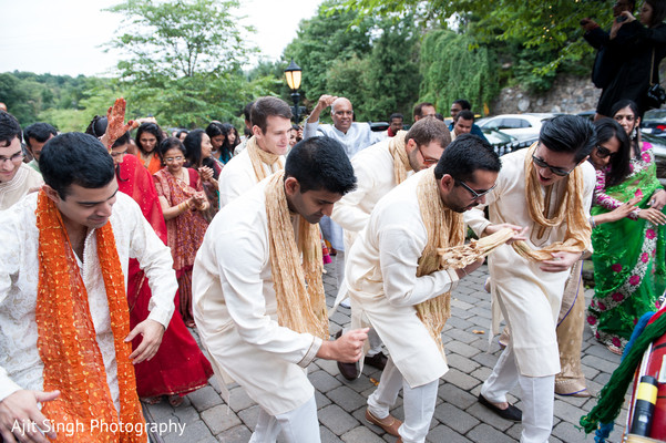 Baraat in Woodland Park, NJ Indian Wedding by Ajit Singh Photography