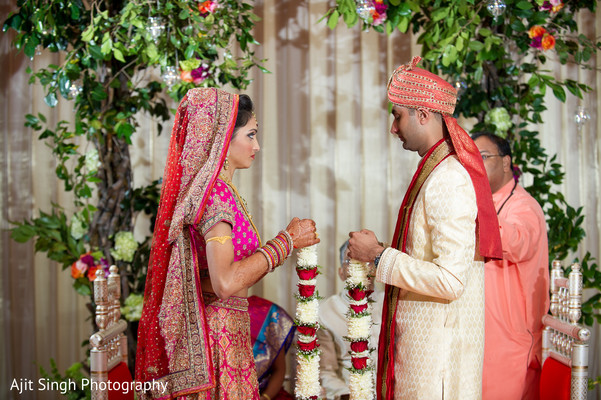 Ceremony in Woodland Park, NJ Indian Wedding by Ajit Singh Photography