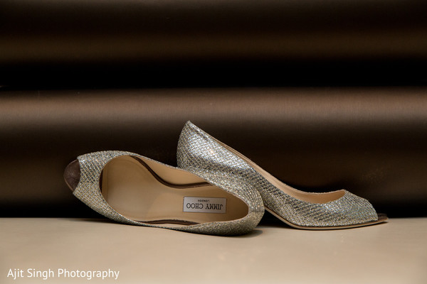 Shoes in Woodland Park, NJ Indian Wedding by Ajit Singh Photography
