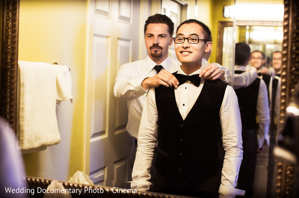 Getting Ready in Walnut Creek, CA Indian Fusion Wedding by Wedding Documentary Photo + Cinema