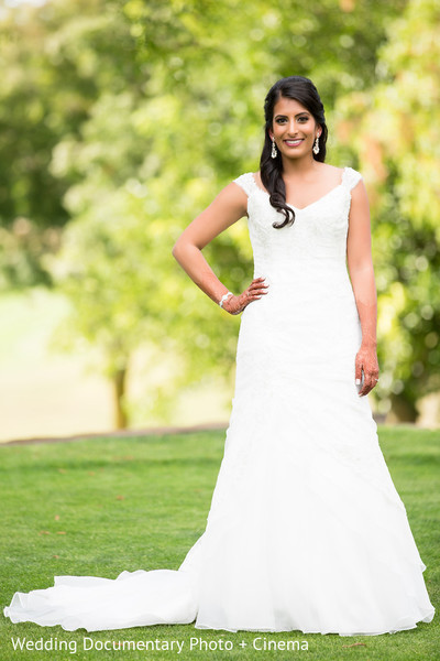 Bridal Portrait in Walnut Creek, CA Indian Fusion Wedding by Wedding Documentary Photo + Cinema