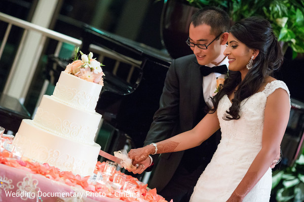 Reception in Walnut Creek, CA Indian Fusion Wedding by Wedding Documentary Photo + Cinema