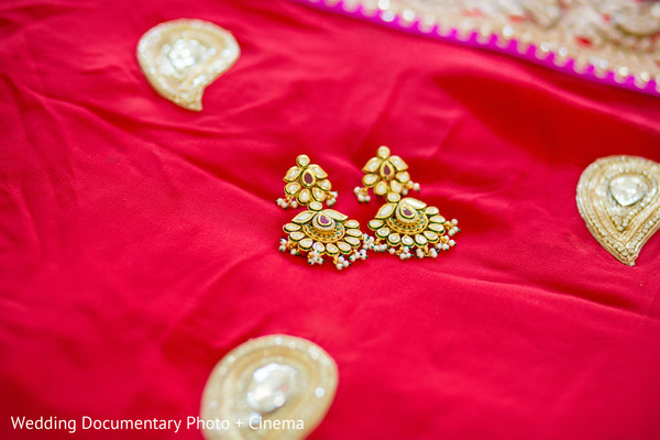 Bridal Jewelry in Walnut Creek, CA Indian Fusion Wedding by Wedding Documentary Photo + Cinema