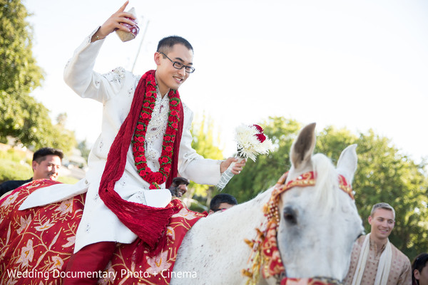 Baraat in Walnut Creek, CA Indian Fusion Wedding by Wedding Documentary Photo + Cinema