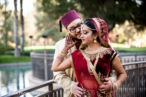 Portraits in City of Industry, CA Indian Wedding by Aaroneye Photography