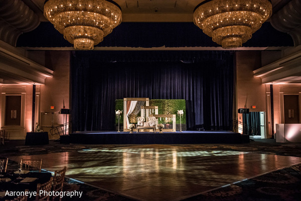 Reception Decor in City of Industry, CA Indian Wedding by Aaroneye Photography