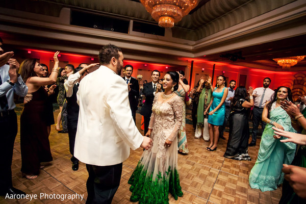 Reception Celebration in City of Industry, CA Indian Wedding by Aaroneye Photography
