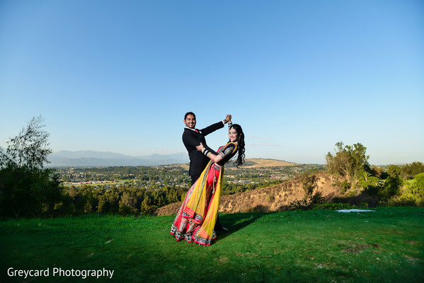 Portraits in City of Industry, CA South Indian Wedding by Greycard Photography