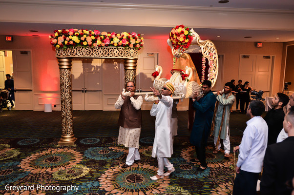 Ceremony in City of Industry, CA South Indian Wedding by Greycard Photography