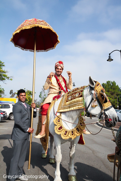 Baraat in City of Industry, CA South Indian Wedding by Greycard Photography