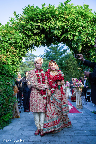 Ceremony in Holbrook, NY Muslim Wedding by MaxPhoto NY