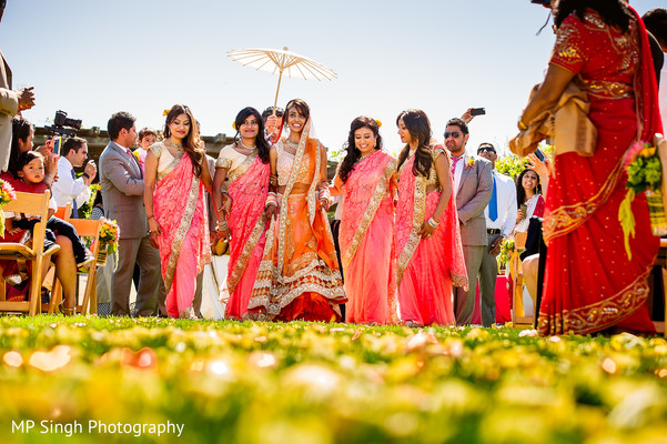 Ceremony in Sonoma, CA Indian Wedding by MP Singh Photography