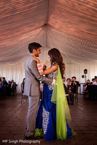 Reception Celebration in Sonoma, CA Indian Wedding by MP Singh Photography