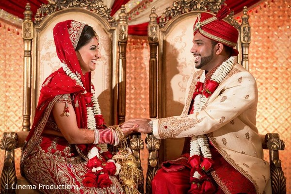 Ceremony in Houston, TX Indian Wedding by 1 Cinema Productions
