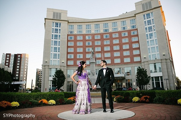 Portraits in New Brunswick, NJ Indian Wedding by SYPhotography