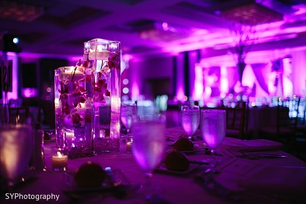 Reception in New Brunswick, NJ Indian Wedding by SYPhotography