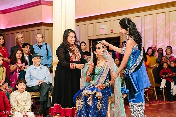 Sangeet in New Brunswick, NJ Indian Wedding by SYPhotography