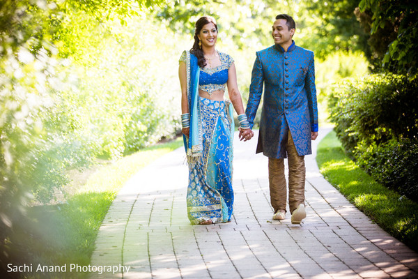 Portraits in Chicago, IL Indian Wedding by Sachi Anand Photography