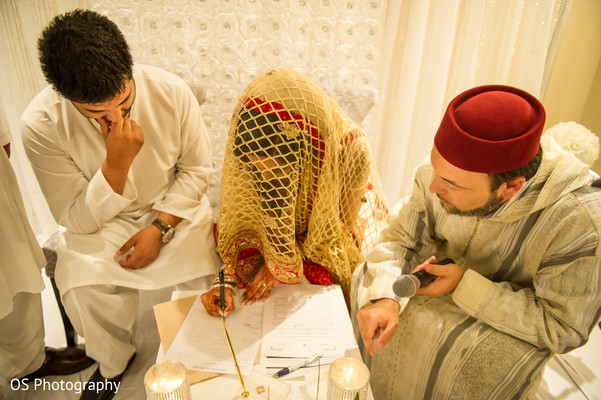 Ceremony in Toronto, Canada Muslim Wedding by OS Photography