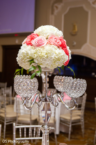 Reception Decor in Toronto, Canada Muslim Wedding by OS Photography