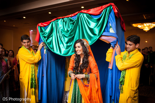 Sangeet in Toronto, Canada Muslim Wedding by OS Photography