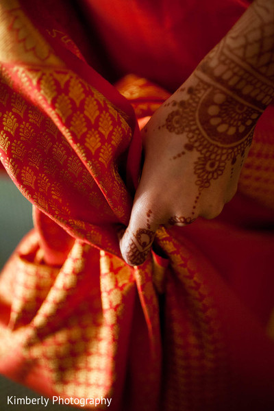 Getting Ready in Palm Harbor, Florida Indian Wedding by Kimberly Photography