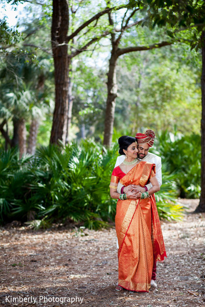 Portraits in Palm Harbor, Florida Indian Wedding by Kimberly Photography
