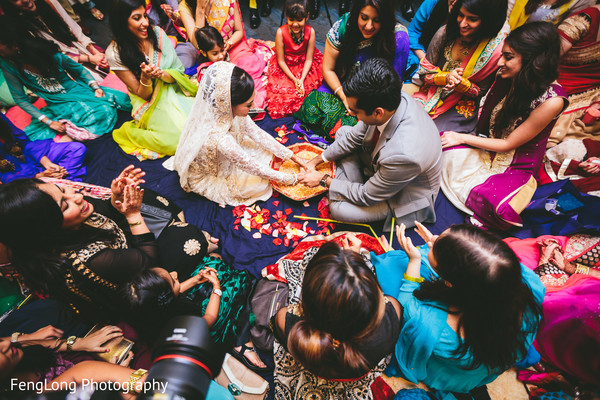 Nikkah in Cocoa Beach, FL Destination Indian Wedding by Fenglong Photography