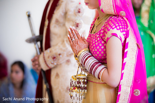 Ceremony in Springfield, VA Indian Wedding by Sachi Anand Photography