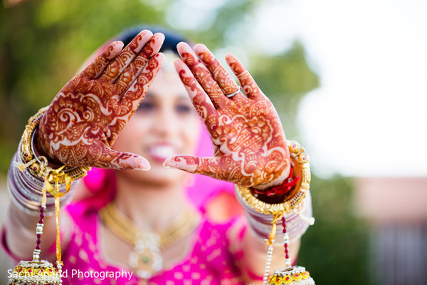 Wedding Portrait in Springfield, VA Indian Wedding by Sachi Anand Photography