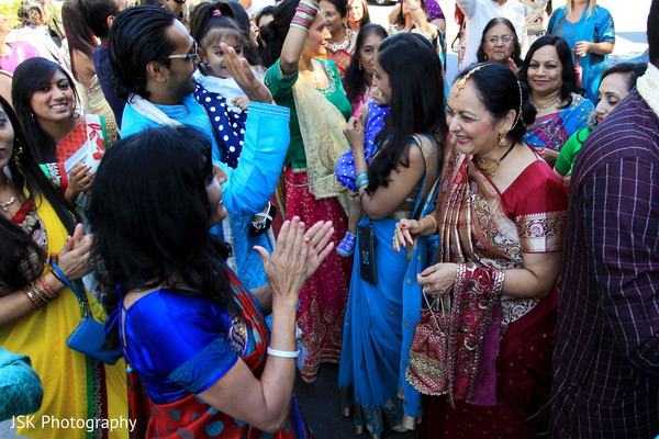 Baraat in Concord, CA Indian Wedding by JSK Photography