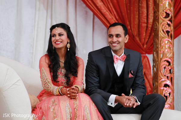 Reception in Concord, CA Indian Wedding by JSK Photography