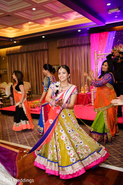 Sangeet in Pearl River, NY Indian Wedding by KSD Weddings