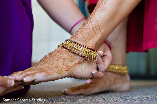 Getting Ready in Phoenix, AZ Indian Fusion Wedding by Sameer Soorma Studios