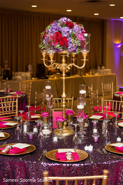 Reception Decor in Phoenix, AZ Indian Fusion Wedding by Sameer Soorma Studios