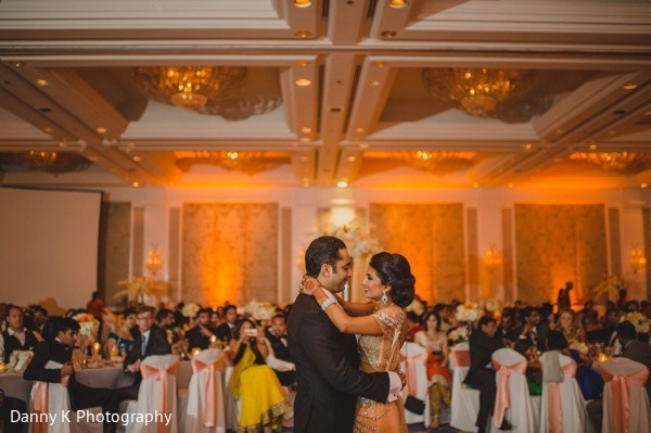 Reception in Oahu, Hawaii Destination South Indian Wedding by Danny K Photography