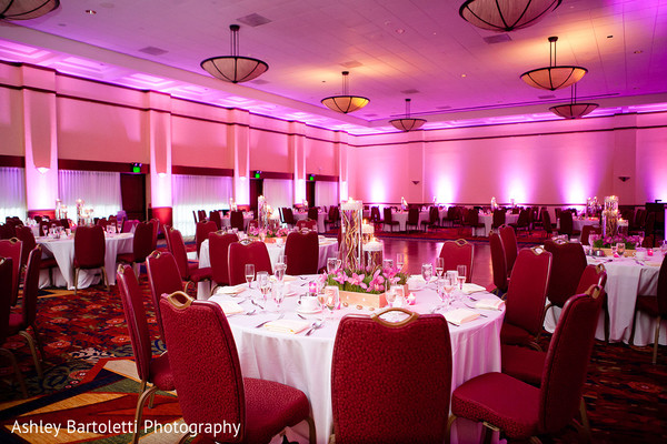 Reception in Hamilton, NJ Indian Fusion Wedding by Ashley Bartoletti Photography