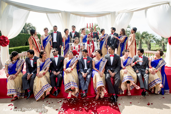 Portraits in San Diego, CA Indian Wedding by Aaroneye Photography