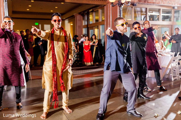 Reception in Seattle, WA Indian Fusion Wedding by Luma Weddings