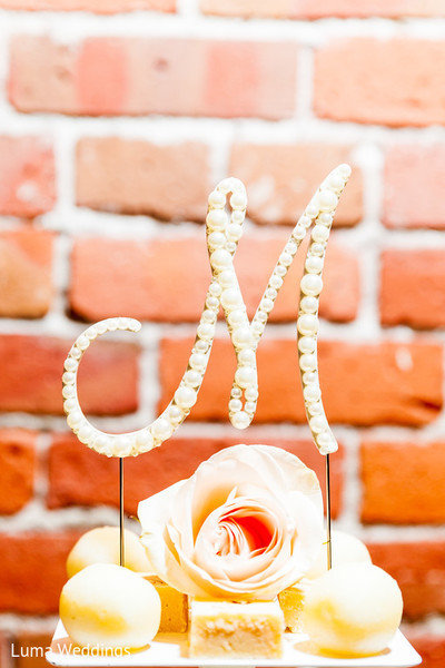 Cakes & Treats in Seattle, WA Indian Fusion Wedding by Luma Weddings