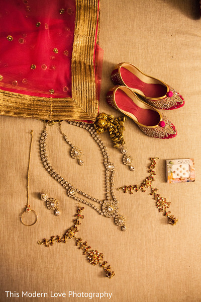 Bridal Jewelry in Atlanta, GA Indian Wedding by This Modern Love Photography