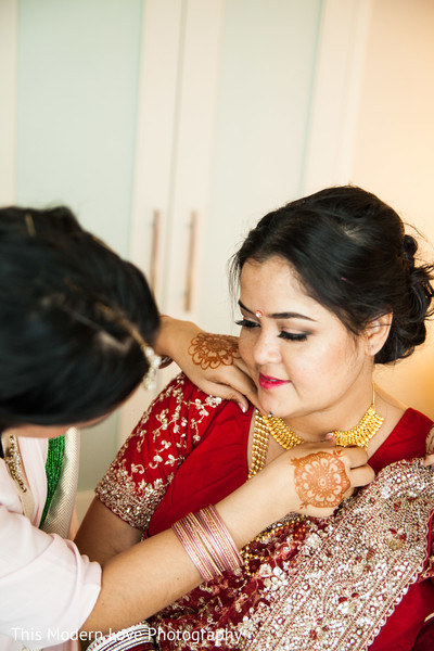 Getting Ready in Atlanta, GA Indian Wedding by This Modern Love Photography