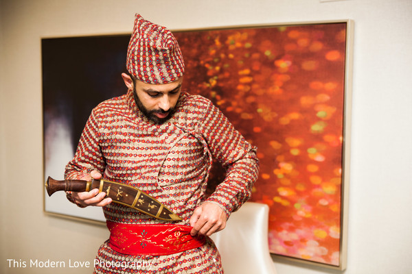 Groom Getting Ready in Atlanta, GA Indian Wedding by This Modern Love Photography